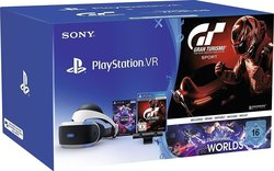Sony PlayStation VR + Camera + Gran Turismo Sport + VR Worlds Voucher