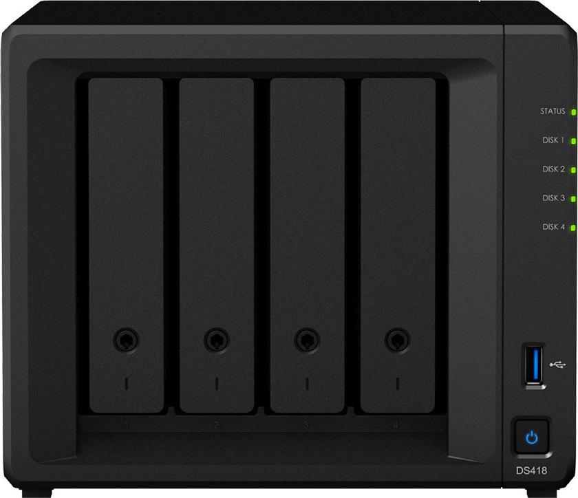 Synology DiskStation DS418 (DS418) - Πληρωμή και σε έως 36 Δόσεις!!!