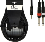 Gewa Cable 2x 6.3mm male - 3.5mm male 1.5m (190.120)