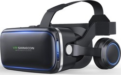 Shinecon VR Headsets G04E with Earphone + SC-B01