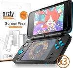 Orzly 6 Ζελατίνες 2DS XL