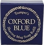 Geo F Trumper Oxford Blue Shaving Soap Mug Refill 56gr