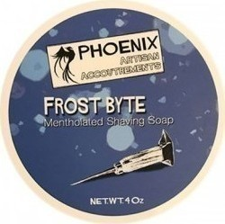 Phoenix Artisan Accoutrements Accountrements Frost Byte Shaving Soap 114gr