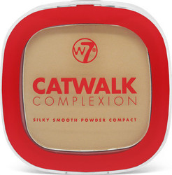 W7 Cosmetics Catwalk Complexion Compact Powder Medium Beige