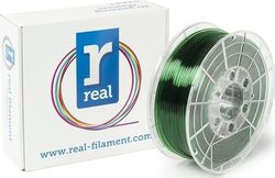 Real Filament PETG 2.85mm Translucent Green 1kg