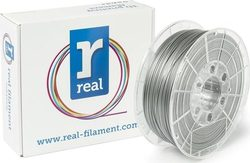 Real Filament PLA 1.75mm Silver 1kg