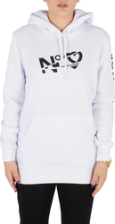 CROOKS AND CASTLES Φούτερ Κουκούλα Ladies Knit Hooded Pullover - Sliced Logo