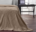SB Concept Μονή Fleece Meandro Taupe 160x240