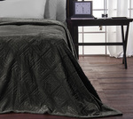 SB Concept Μονή Fleece Meandro Carbone 160x240