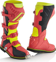 Acerbis X-Pro V. Boots Red/Yellow