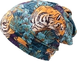 Unisex Σκουφάκι Beanie Atlantis party - Tiger - 2702