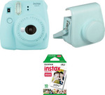 Fujifilm Instax Mini 9 Set (Case and 10 Shot Film Paper)