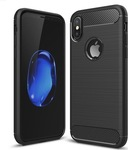 Carbon Brushed Μαύρο (iPhone X/Xs)