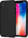 Spigen Liquid Crystal Matte Black (iPhone X)