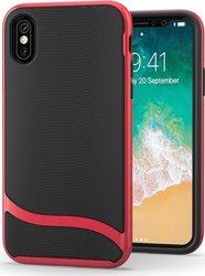 Snugg Cascade Back Cover Κόκκινο (iPhone X/Xs)