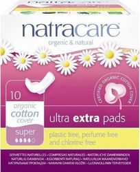 Natracare Ultra Extra Pads Super 10τμχ