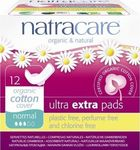 Natracare Ultra Extra Pads Normal 12τμχ