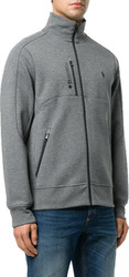 POLO RALPH LAUREN Double-Knit Track Jacket - Foster Grey