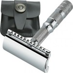 Merkur Razor Travel Razor Leather Case 90 933 000