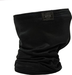ATRIP MADRAS NECKWARMER BLACK