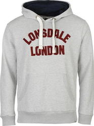 Lonsdale HTG Over The Head 535017 Grey