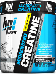 Bpi Sports Micronized Pure Creatine 300gr Unflavoured