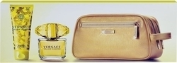 Versace Yellow Diamond Set Eau de Toilette 90ml, Body Lotion 100ml & Bag