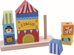 Tooky Toys Circus Block Tower