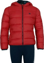 Champion Jacket PS GS 304586-RS001 Κόκκινο