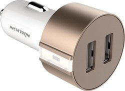 Nillkin Vigor Dual Usb Car Charger 3.4A Gold