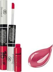 Dermacol 2 in 1 Long-lasting 16Η Lip Colour 06