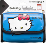 Bigben Interactive HK 520 Carrying Bag Hello Kitty Blue 3DS / DS