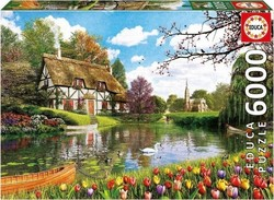 Lakeside Cottage 6000pcs (16784) Educa