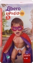 Libero Up & Go Super Hero Edition Νο 5 (10-14kg) 42τμχ