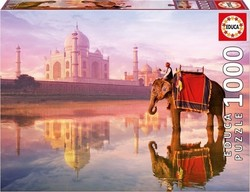 Elephant At Taj Mahal 1000pcs (16756) Educa
