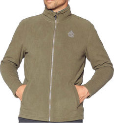 ΖΑΚΕΤΑ ΑΝΔΡΙΚΗ FLEECE BERG KLUANE FULL ZIP XAKI