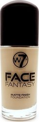 W7 Cosmetics Face Fantasy Matte Foundation Meidum Beige 30ml