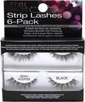 Ardell Strip Lashes 6-pack Demi Wispies Black