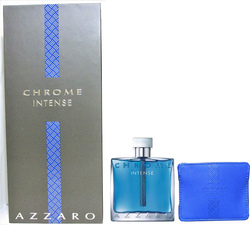 Azzaro Chrome Intense Eau de Toilette 100ml & Credit Card Holder