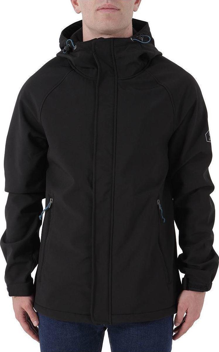 Basehit Long Hooded Bonded Jacket Black data-zoom   d.scdn. 2aa361ec3d2