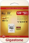 Gigastone Professional 633x microSDXC 128GB U3 with Adapter