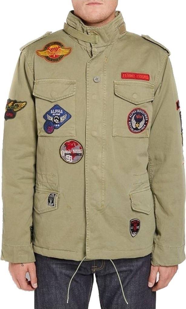 Alpha Industries Field Jacket Vintage M-65 CW Patch 178115-82 ... 55737433f9f