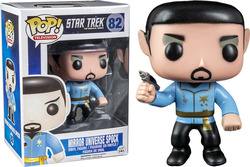 Pop! Television Star Trek Mirror Universe Spock 82 (Exclusive)