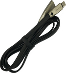 Awei Flat USB 2.0 to micro USB Cable Μαύρο 1m (CL-96B)
