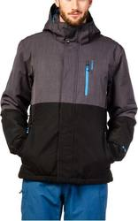 PROTEST RUN SNOW JACKET TRUE BLACK