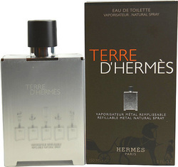 Hermes Terre D' Hermes Refillable Metal Eau de Toilette 150ml