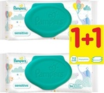 Pampers Sensitive Baby Wipes 2x56τμχ