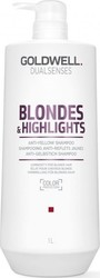 Goldwell Dualsenses Blonde & Highlights Anti Yellow Shampoo 1000ml