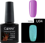 Canni Nail Art U04 Luminous Lilac