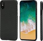 Pitaka Magcase Aramid Black/Grey Twill (iPhone X)